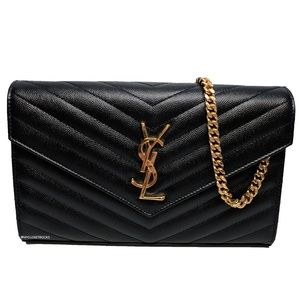 SOLD Saint Laurent Monogram Large Wallet on Chain